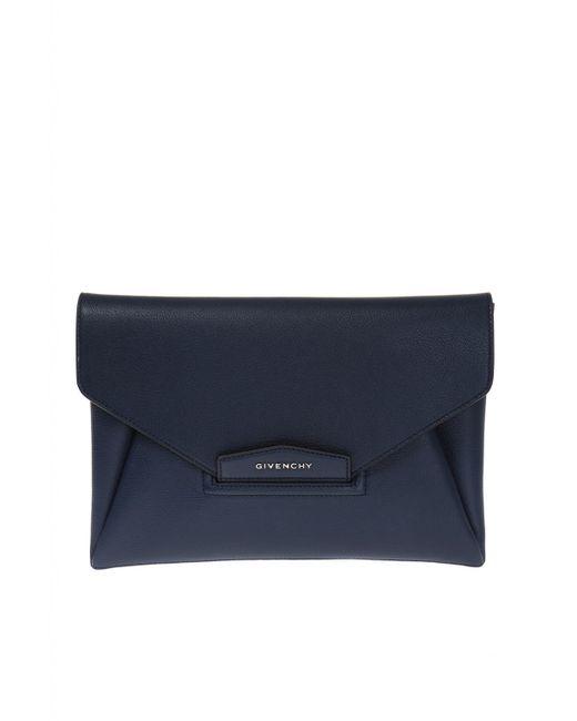 Givenchy - Blue 'antigona' Clutch - Lyst