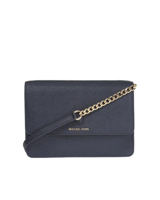 Michael Kors - Blue 'daniela' Shoulder Bag - Lyst