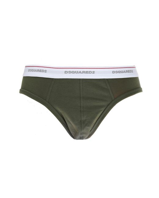 DSquared² - White Briefs Two-pack for Men - Lyst