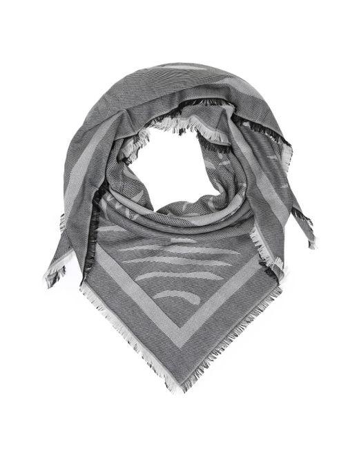 KENZO - Gray Tiger Head Shawl for Men - Lyst