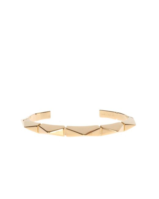 Chloé - Metallic Brass Bracelet - Lyst