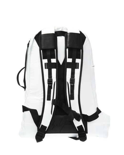 9cfa6d6f512f Y-3 Connected Zippers Backpack in White for Men - Save 32% - Lyst