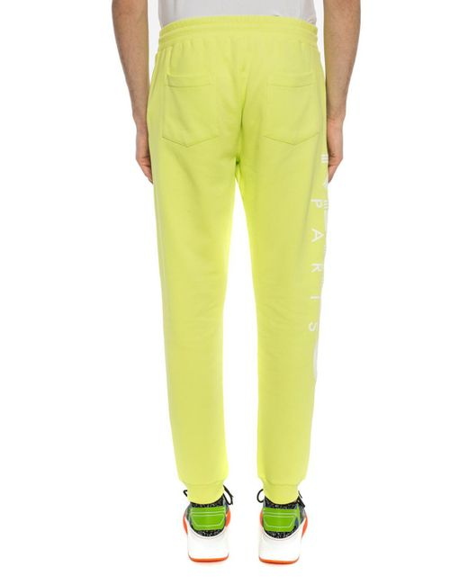 061d5e14c20e ... KENZO - Yellow Branded Sweatpants for Men - Lyst ...