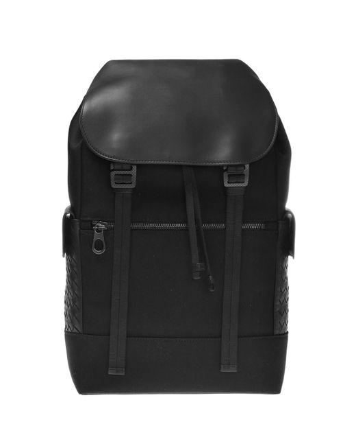 4ba1dd341801 Lyst - Bottega Veneta  intrecciato  Backpack in Black for Men - Save ...
