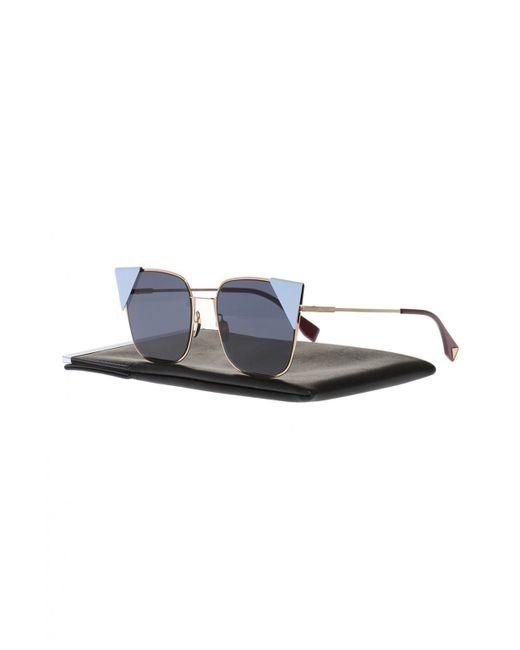 2464d48fc29 Lyst - Fendi  lei  Sunglasses in Blue