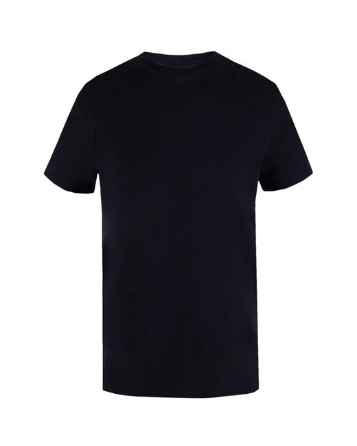 Emporio Armani - Black T-shirt Three-pack for Men - Lyst
