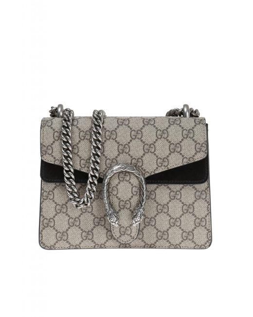 f258cc22686 Gucci - Brown  dionysus  Shoulder Bag - Lyst ...