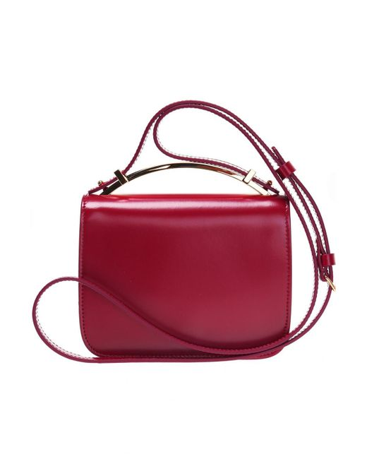 7a0e85cbc3d Marni - Red  sculpture  Shoulder Bag - Lyst ...