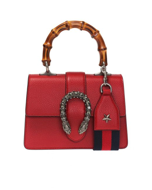 bdf0996fabdc24 Gucci - Red 'dionysus' Shoulder Bag - Lyst ...