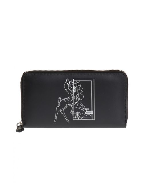 Givenchy - Black Printed Wallet - Lyst