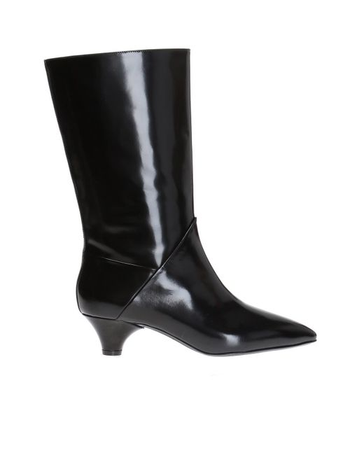 Marni - Black Heeled Ankle Boots - Lyst