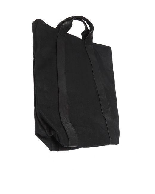81ae7a0cba983 ... Ann Demeulemeester - Black Shopper Bag With Logo for Men - Lyst ...