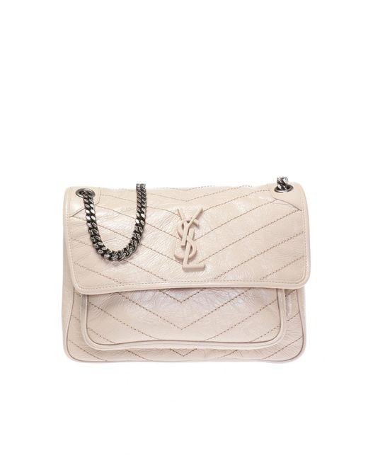 2e435ca454c6 Saint Laurent - Multicolor  niki  Shoulder Bag - Lyst ...