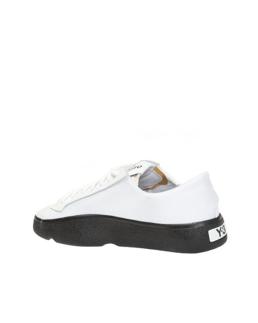 47bba87b4 Lyst - Y-3 Tangutsu Lace Sneakers in White for Men - Save 9%