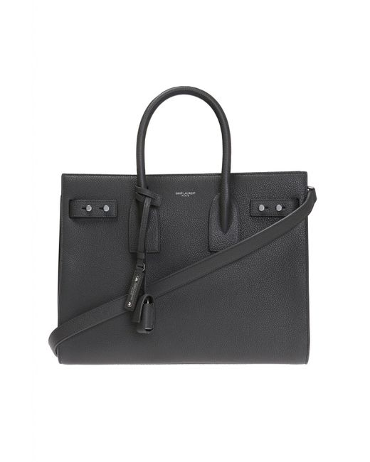Saint Laurent - Black 'sac De Jour' Shoulder Bag - Lyst
