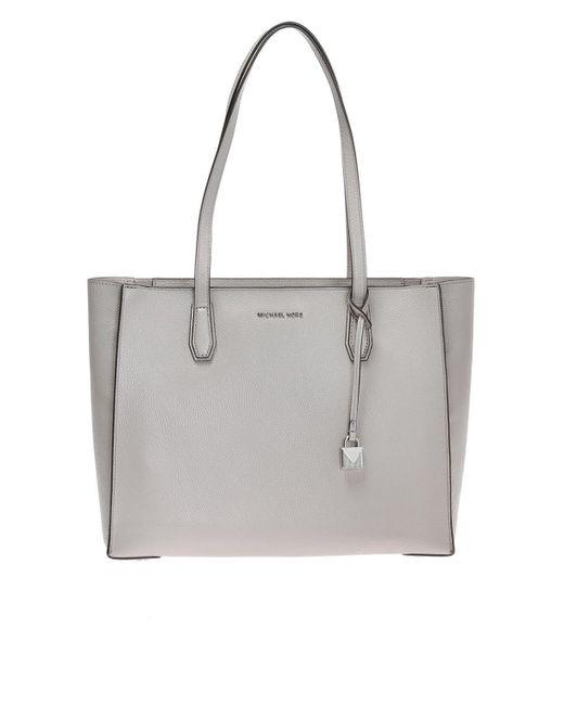 429ed699e841 Michael Kors - Gray  mercer  Shopper Bag - Lyst ...