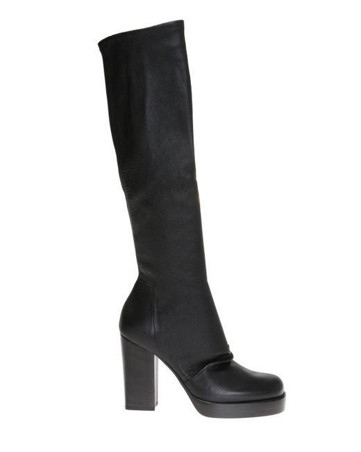 Rick Owens - Black Heeled Boots - Lyst