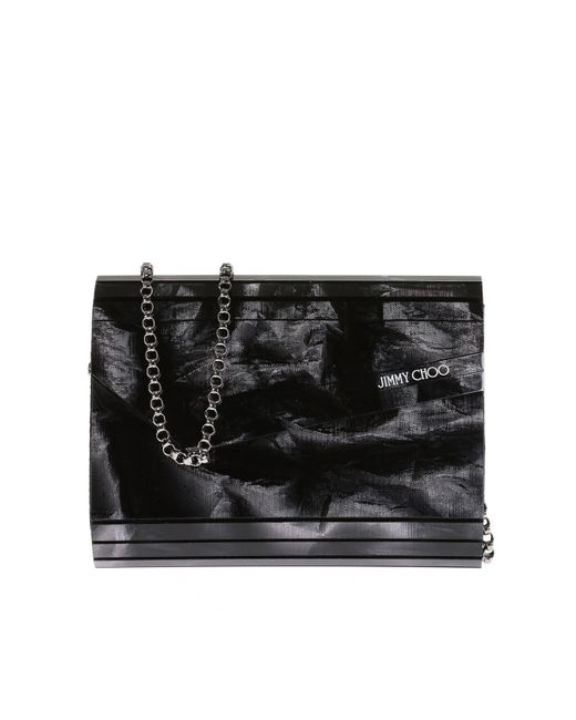 Jimmy Choo - Black 'candy' Clutch - Lyst