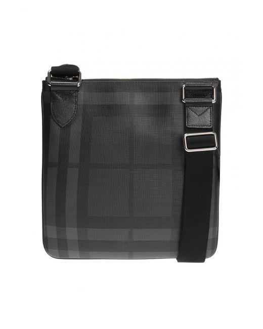 95d68851c3bc Burberry  london Check  Patterned Shoulder Bag in Black for Men - Lyst
