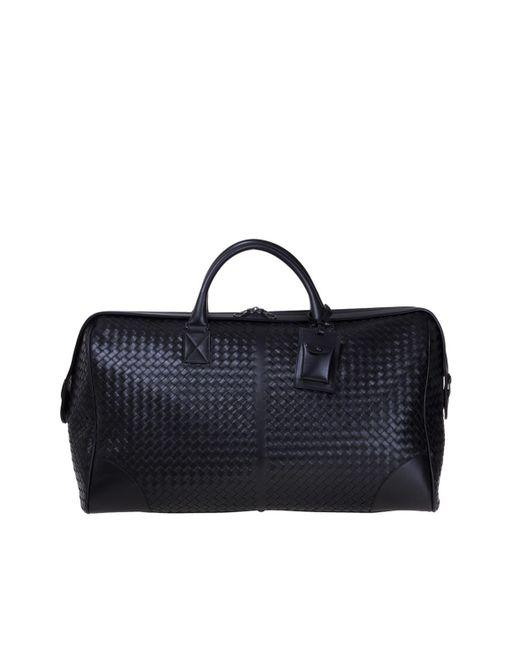 Bottega Veneta - Black Travel Bag for Men - Lyst