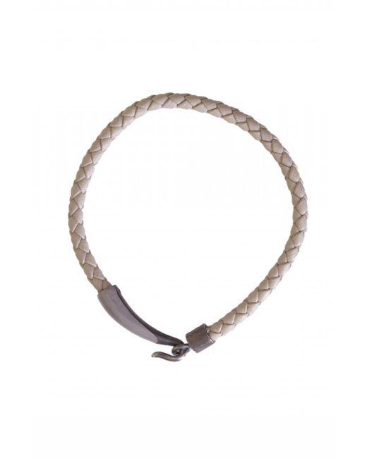 Bottega Veneta - Multicolor Leather Woven Bracelet for Men - Lyst