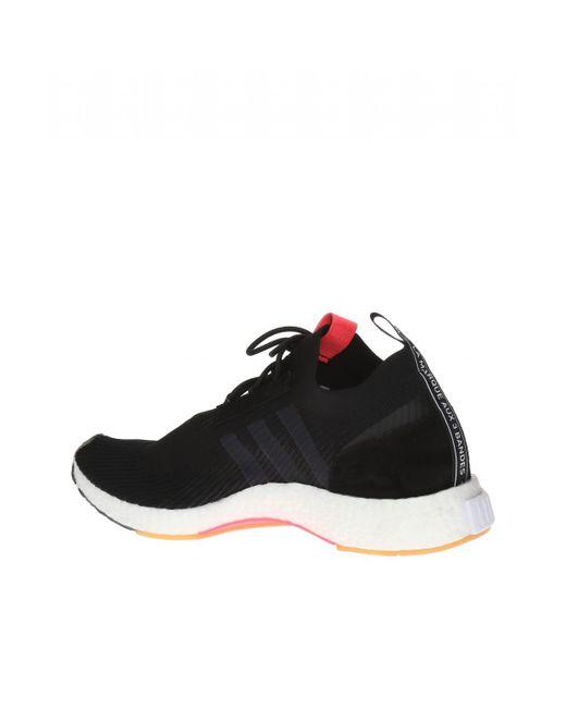 a15dd3b2be6c2 ... Adidas Originals - Black  nmd Racer Primeknit  Sock Sneakers for Men ...