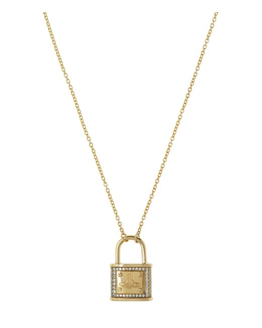 Vivienne Westwood | Metallic Darianne Small Necklace Gold | Lyst