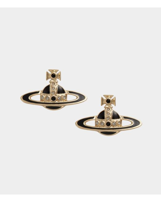 Vivienne Westwood - Metallic Small Neo Bas Relief Earrings - Lyst