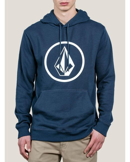Volcom | Blue Stone Pullover Hoodie for Men | Lyst