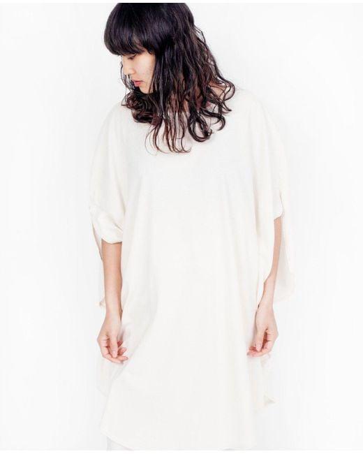 Cosmic Wonder - Circular Dress / Natural - Lyst