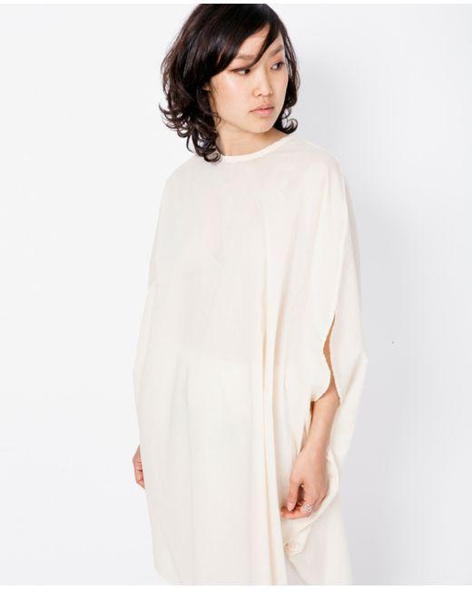 Cosmic wonder circular dress natural in white natural for Cosmic pattern clothing