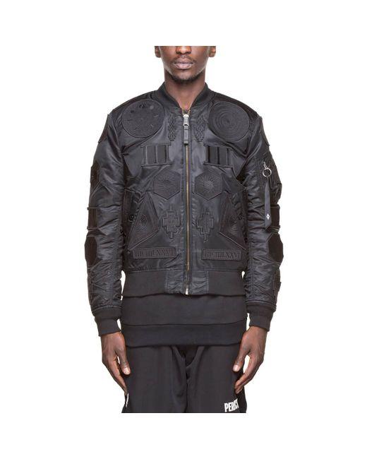 Marcelo Burlon | Black Rayen Alpha Jacket for Men | Lyst