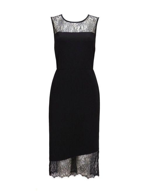 Wallis - Black Shift Dress - Lyst