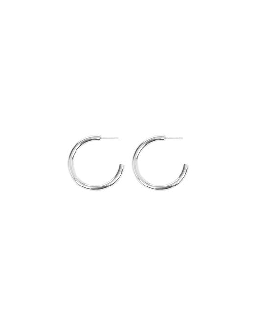 Warehouse | Metallic Chunky Hoop Earring | Lyst