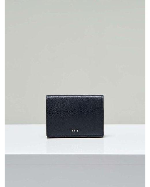 MADGOAT - Blue [unisex] Button Card Wallet Dark Navy - Lyst