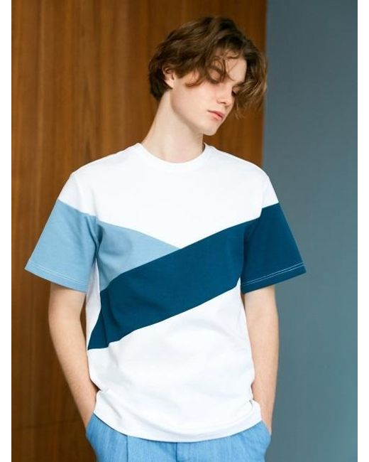 BONNIE&BLANCHE - Underwater Over Fit T-shirt White for Men - Lyst