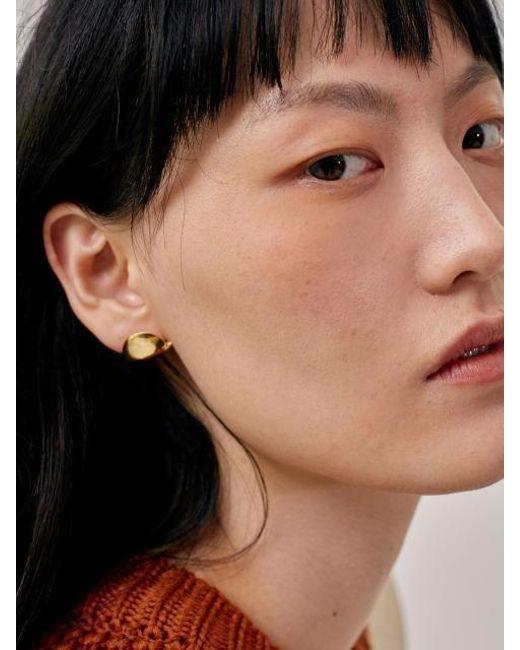 Low Clic Metallic 17fw Earlobe Earring Gold Lyst