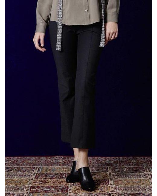W Concept | Blue Bel Bootscut Pants | Lyst