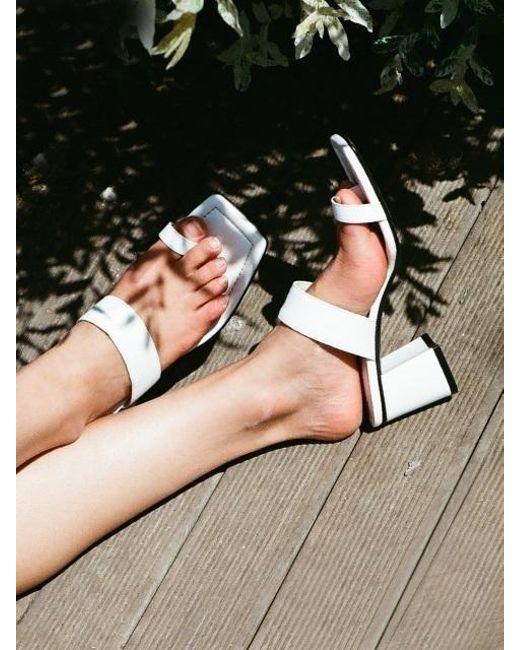 W Concept - Mrc02s Tropical Sandal White Cobalt Blue - Lyst