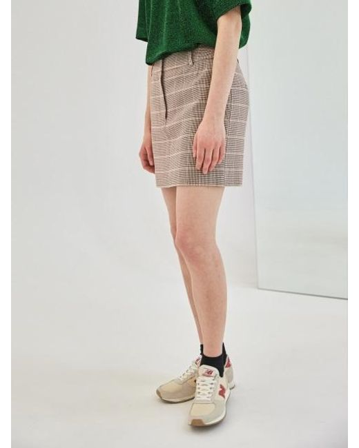 COLLABOTORY - Multicolor Baama7007m Plaid Mini Skirt - Lyst