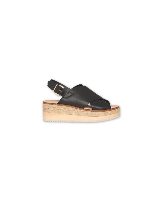 Whistles - Black Rafi Flatform Sandal - Lyst