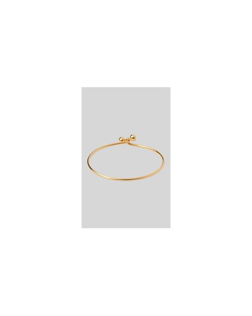 Whistles - Metallic Double Sphere Link Bangle - Lyst