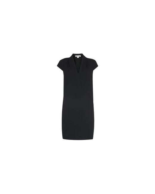 Whistles | Black Paige V Neck Crepe Dress | Lyst