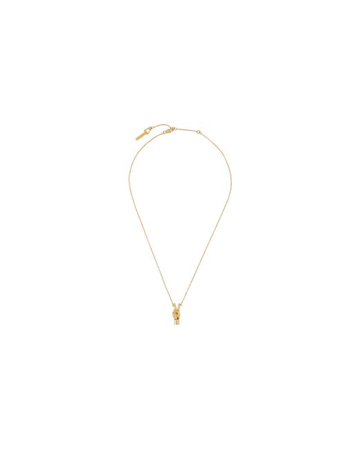Whistles | Metallic Peace Out Necklace | Lyst