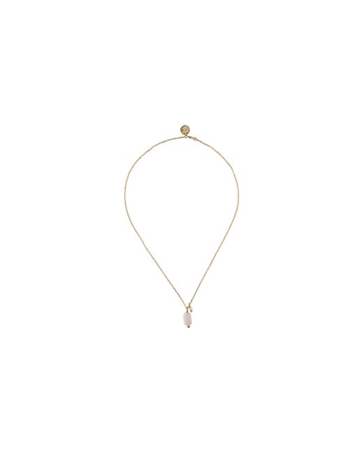 Whistles - White Mirabelle Agate Pearl Necklace - Lyst