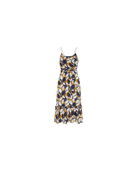 Whistles | Multicolor Lemon Print Strappy Dress | Lyst