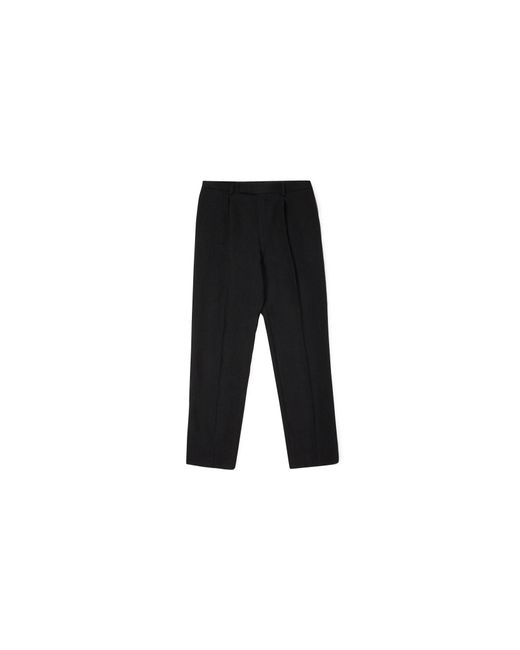 Whistles - Black Relaxed Fit Trousers for Men - Lyst