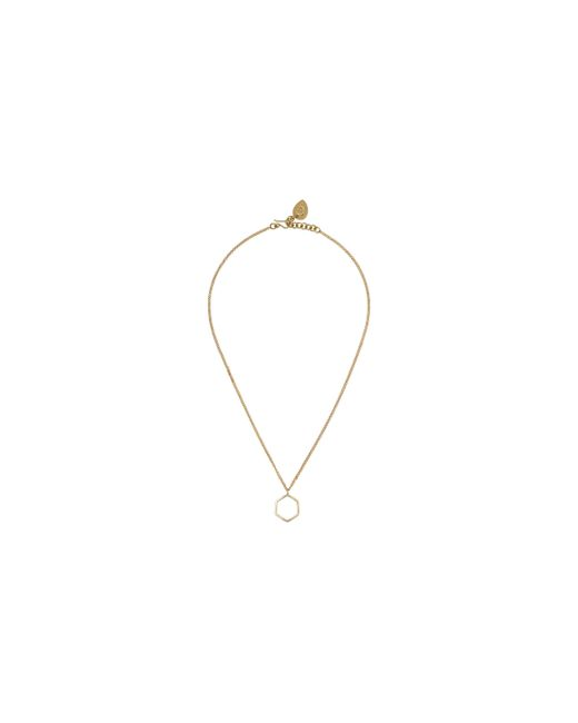 Whistles | Metallic Made Fine Hexagon Necklace | Lyst