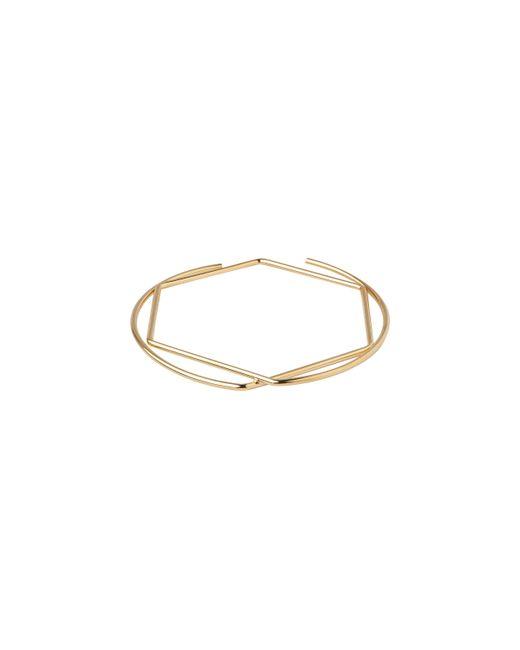 Whistles | Metallic Circle Hexagon Bangle | Lyst