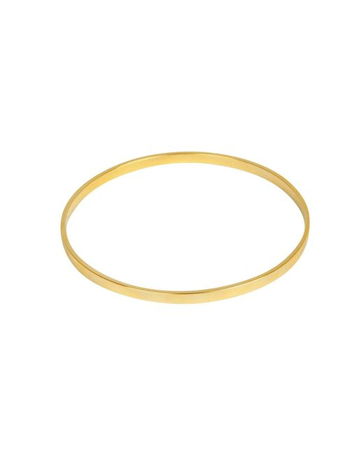 Matthew Calvin - Metallic Basic Bangle In Gold - Lyst